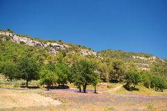 Landscape French Luberon Royalty Free Stock Images