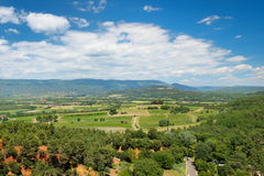 Landscape in French Provence Stock Photos