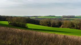 Landscape of the French Vexin Royalty Free Stock Image