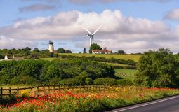 Windmill North East England UK Royalty Free Stock Image