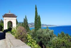 Landscape From Hanbury Villa Royalty Free Stock Photo