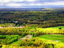 Landscape From Talcott Mountain Stock Photo