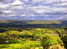 Landscape From Talcott Mountain Royalty Free Stock Images