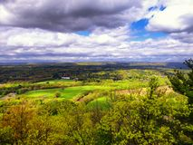 Landscape From Talcott Mountain Royalty Free Stock Image