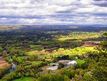 Landscape From Talcott Mountain Stock Photos