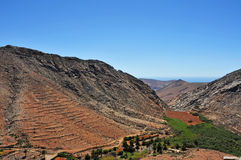 Landscape of Fuerteventura, Canary Islands, Spain Royalty Free Stock Photography