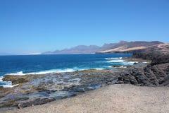Landscape in Fuerteventura Royalty Free Stock Photo