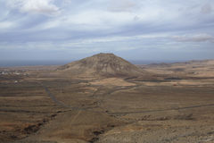 The landscape, Fuerteventura Stock Photo