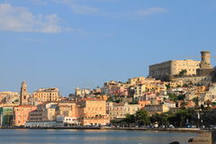 Landscape of Gaeta, Italy stock images