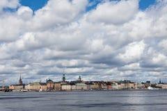 Gamla stan Stockholm. Landscape of Gamla stan Stockholm Royalty Free Stock Photos