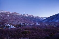 Landscape at Gamle Strynefjellsvegen, National tourist road, Nor. Way Stock Image