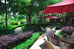 Landscape garden Stock Image