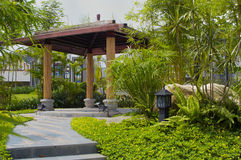Landscape garden Royalty Free Stock Image
