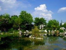 A landscape garden Stock Photos