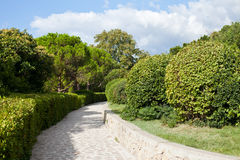 Landscape gardening Royalty Free Stock Photography