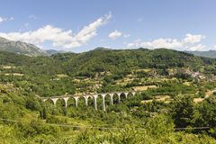 Landscape in Garfagnana (Tuscany) Stock Photography