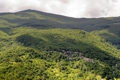 Landscape in Garfagnana (Tuscany) Royalty Free Stock Images