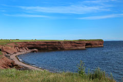 Landscape in Gaspesie, Quebec Royalty Free Stock Images