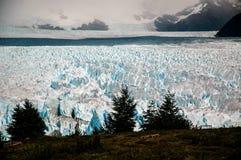 Landscape general in Perito Moreno stock photography