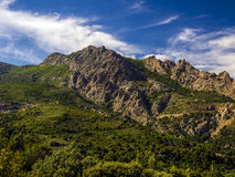 Landscape of Gennargentu mountain Stock Photos