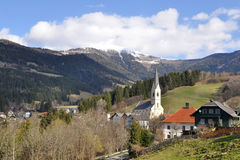 Landscape in Gerlitzen Alps,Carinthia,Austria Stock Images