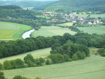 Landscape in germany Royalty Free Stock Images