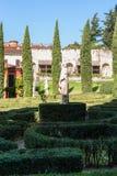 Landscape of Giusti Garden in Verona Stock Photo