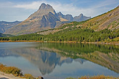 Landscape in Glacier National Park, Montana Stock Images