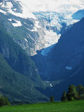Landscape glacier Stock Photo