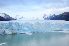 Landscape of glaciers in argentina Royalty Free Stock Photography