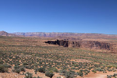 Landscape in Glen Canyon Royalty Free Stock Image