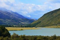 Landscape of Glenorchy New Zealand NZ NZL Stock Photo