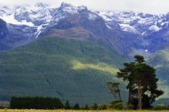 Landscape of Glenorchy New Zealand NZ NZL Stock Photos
