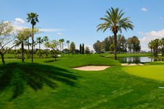 Landscape golf Royalty Free Stock Images