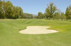 Landscape golf Stock Image