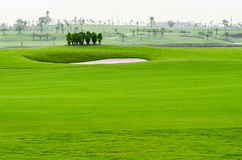 Landscape of golf course Stock Photo
