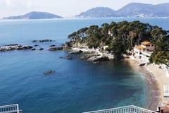 Landscape of golfo dei poeti Royalty Free Stock Photos