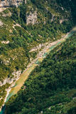 Landscape Of The Gorges Du Verdon In South-eastern France. Prove. Nce-alpes-cote D'azur Royalty Free Stock Photo
