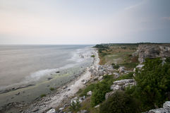 Landscape at Gotland Royalty Free Stock Images