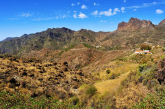 Landscape in Gran Canaria, Spain Royalty Free Stock Photography