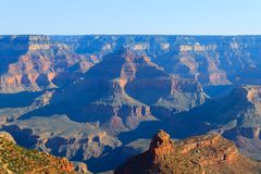 Landscape from Grand Canyon south rim, USA Royalty Free Stock Photo