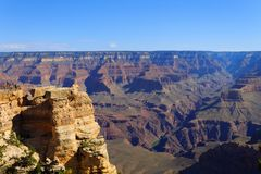 Landscape from Grand Canyon south rim, USA Stock Photos