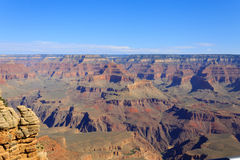 Landscape from Grand Canyon south rim, USA Royalty Free Stock Photos