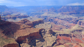 Landscape from Grand Canyon south rim, USA Stock Images