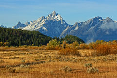 In Grand Teton National Park Royalty Free Stock Photos