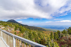 Landscape at Grandfather Mountain Royalty Free Stock Photography