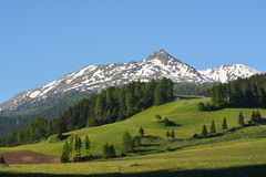 Landscape At Graun, Italy Stock Image