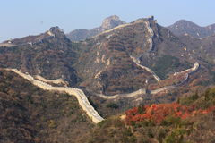 Landscape of great wall Royalty Free Stock Image