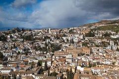 Grenada city in Spain Stock Photo