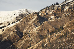 Landscape in Grigoriev gorge. Kyrgyzstan Stock Photo